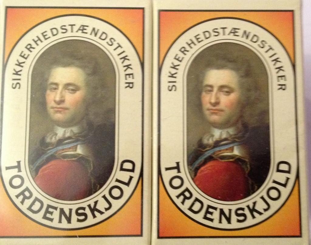 Boîtes d'allumettes danoises