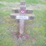 tombe militaire catholique
