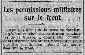 Permissions militaires