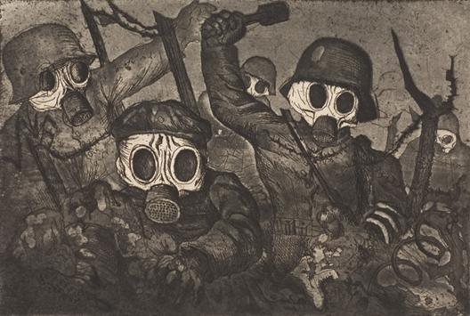 Gaz moutarde 12 juillet 1917